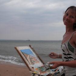 Выставка Ольги Коноровой «Глядя на море»